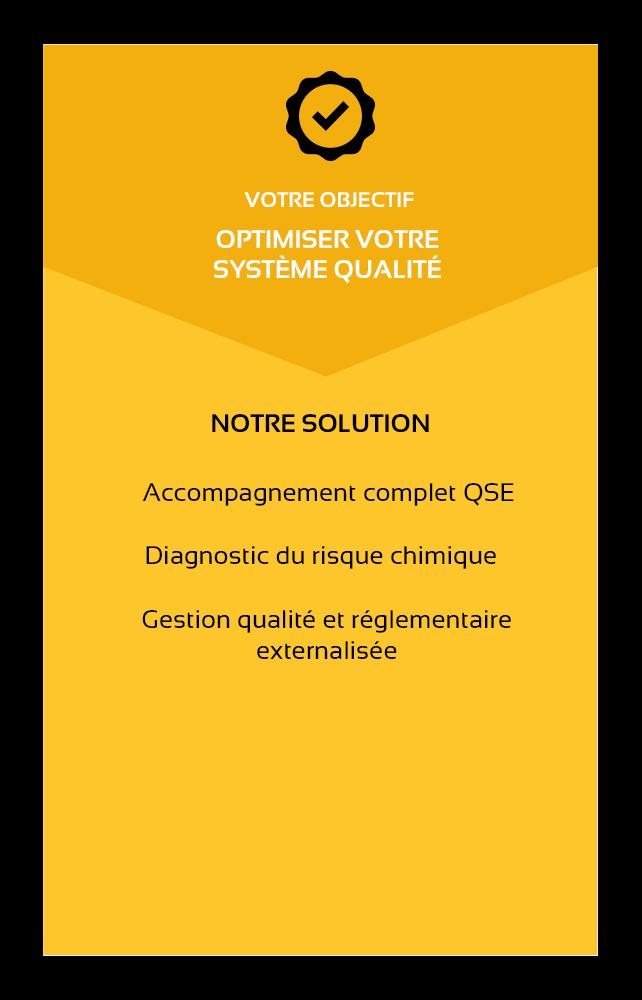 ALL4FEED-support-reglementaire-certifications-audits-objectif optimiser votre système qualité-solution-accompagnement complet QSE-diagnostic du risque chimique-gestion qualité et réglementaire externalisée